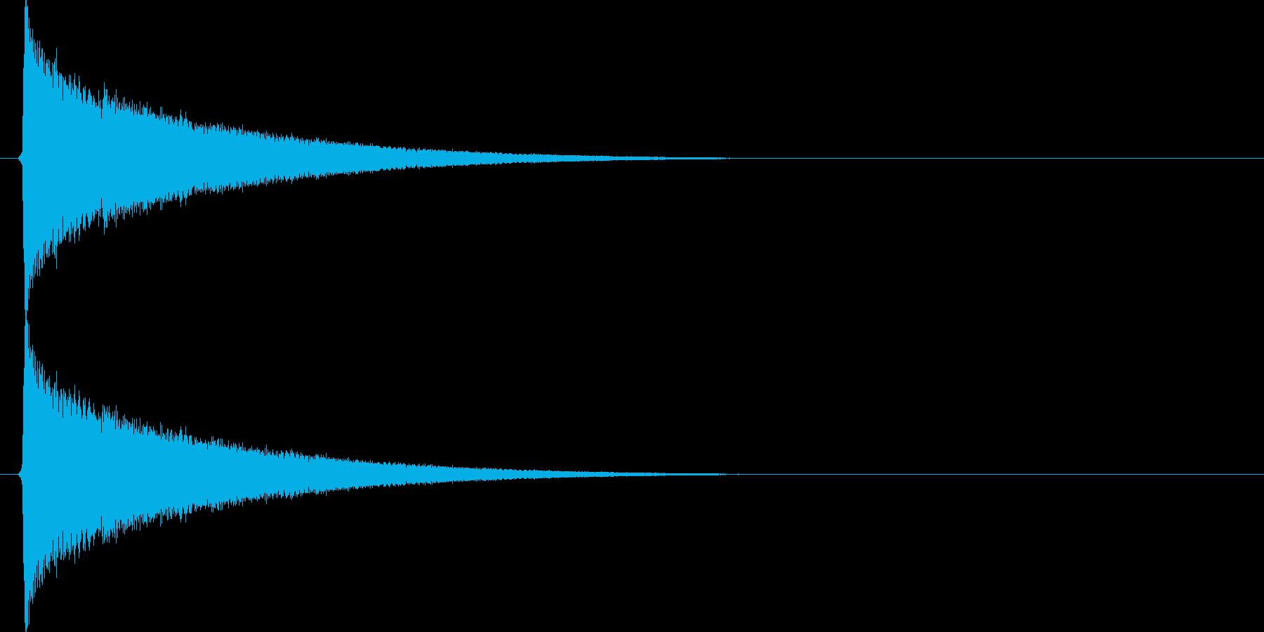 キラキラキラ…(星、瞬き、綺麗)の再生済みの波形