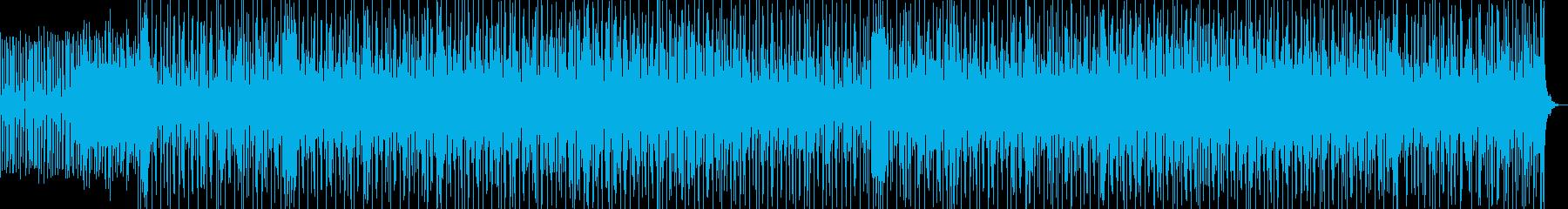 爽やかでセンチメンタルな気分の曲の再生済みの波形