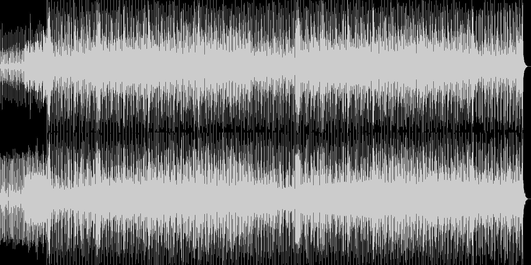 爽やかでセンチメンタルな気分の曲の未再生の波形