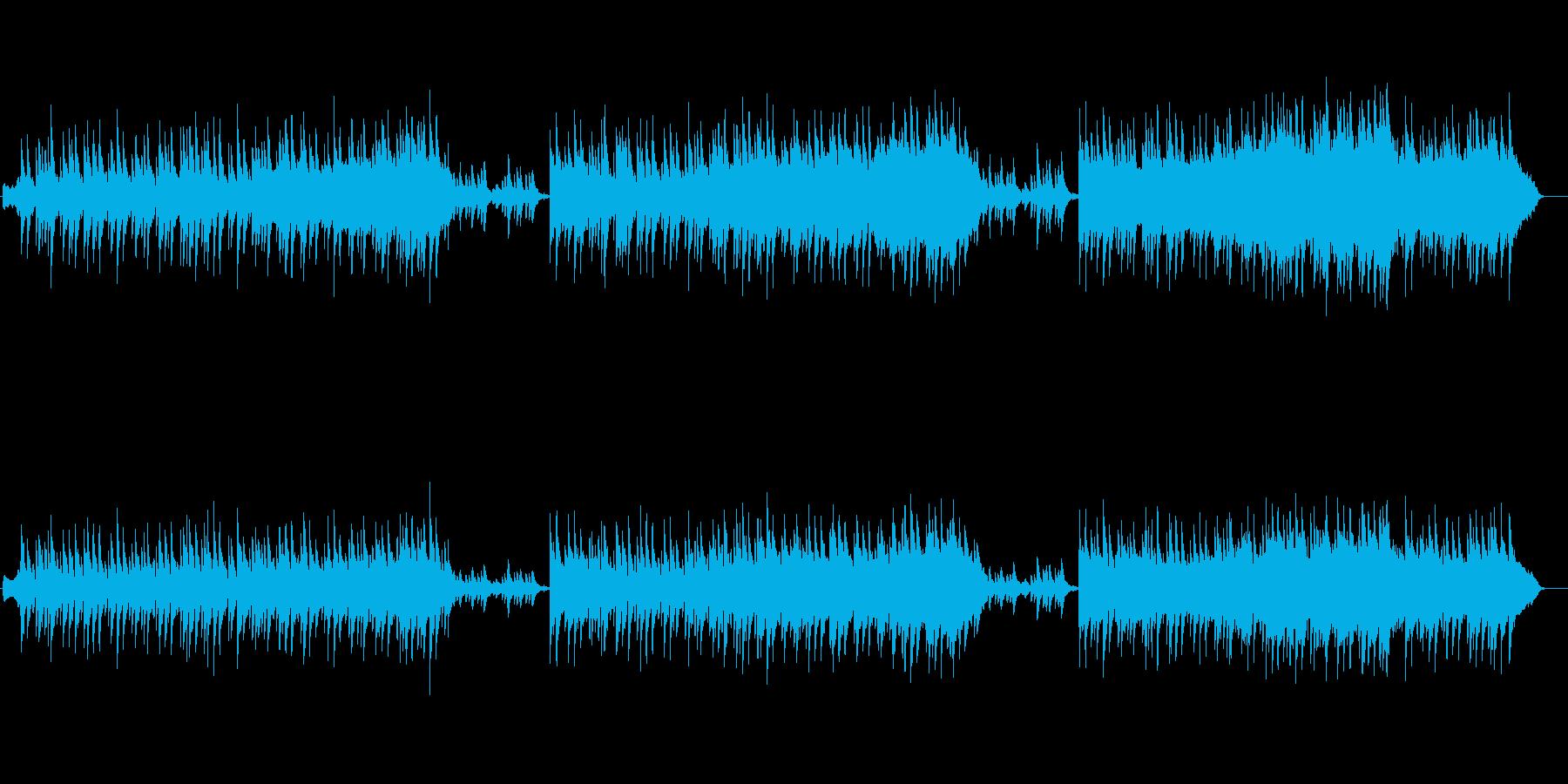穏やかなほのぼのBGM/バラードの再生済みの波形
