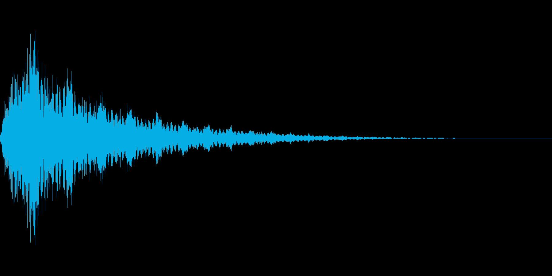 チャージ/パワーアップ/キュイーンの再生済みの波形