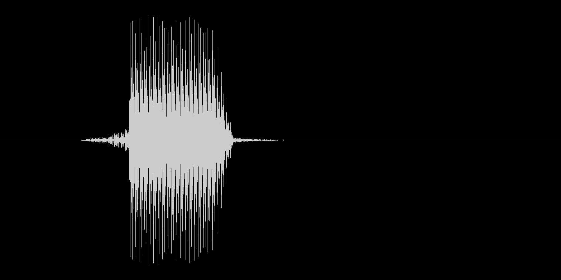 ゲーム(ファミコン風)セレクト音_037の未再生の波形