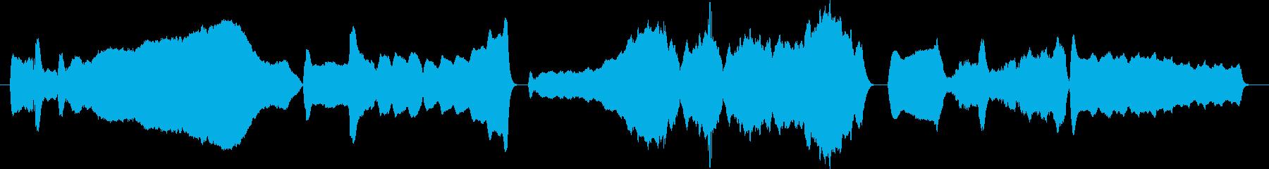 中国4000年の歴史の再生済みの波形