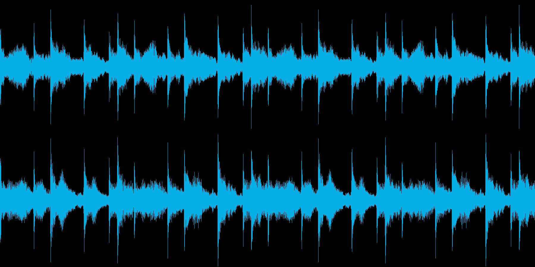 House コードシンセ 4 音楽制作用の再生済みの波形