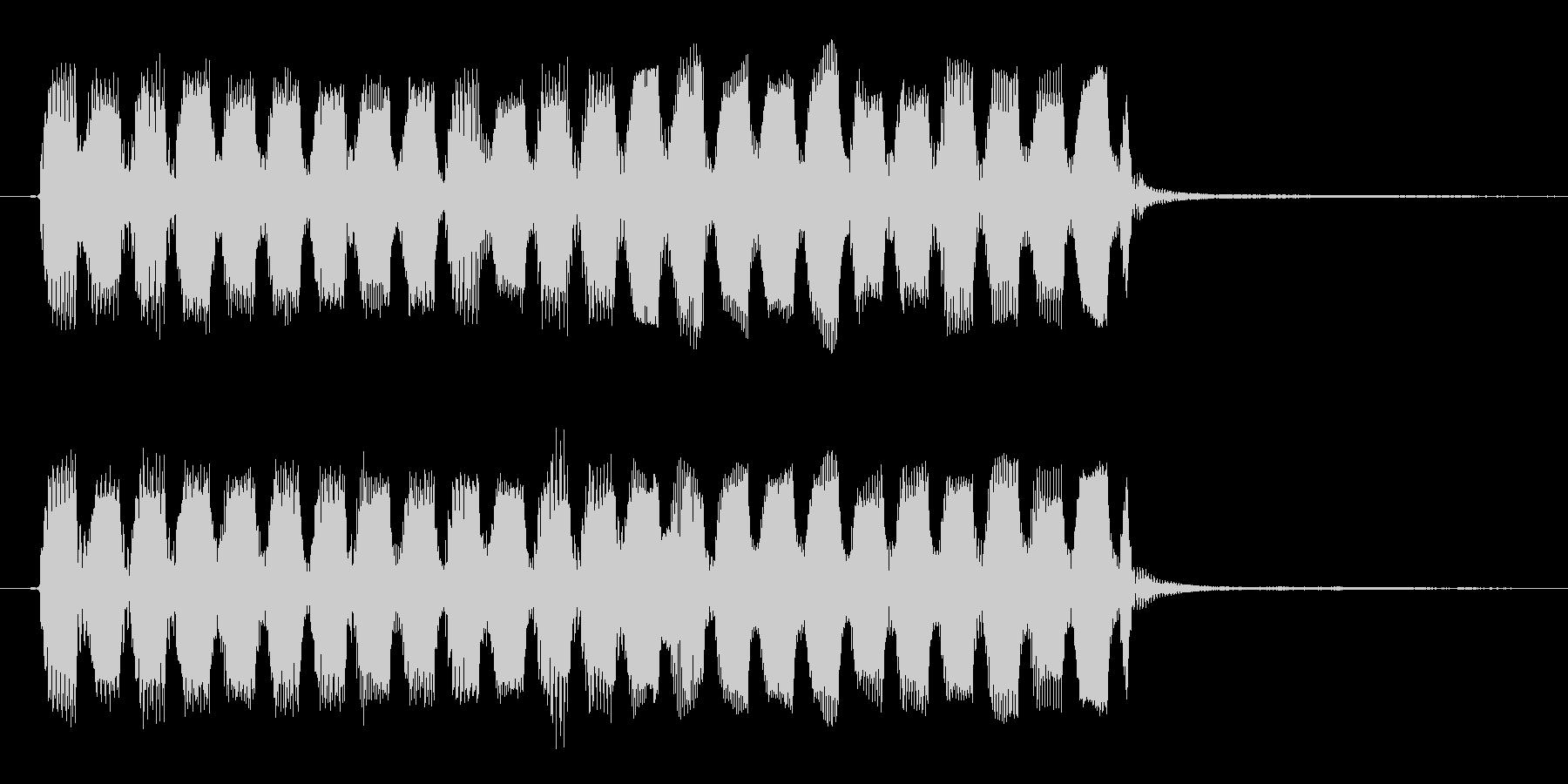 コミカルで変な効果音・アイテム出現音の未再生の波形