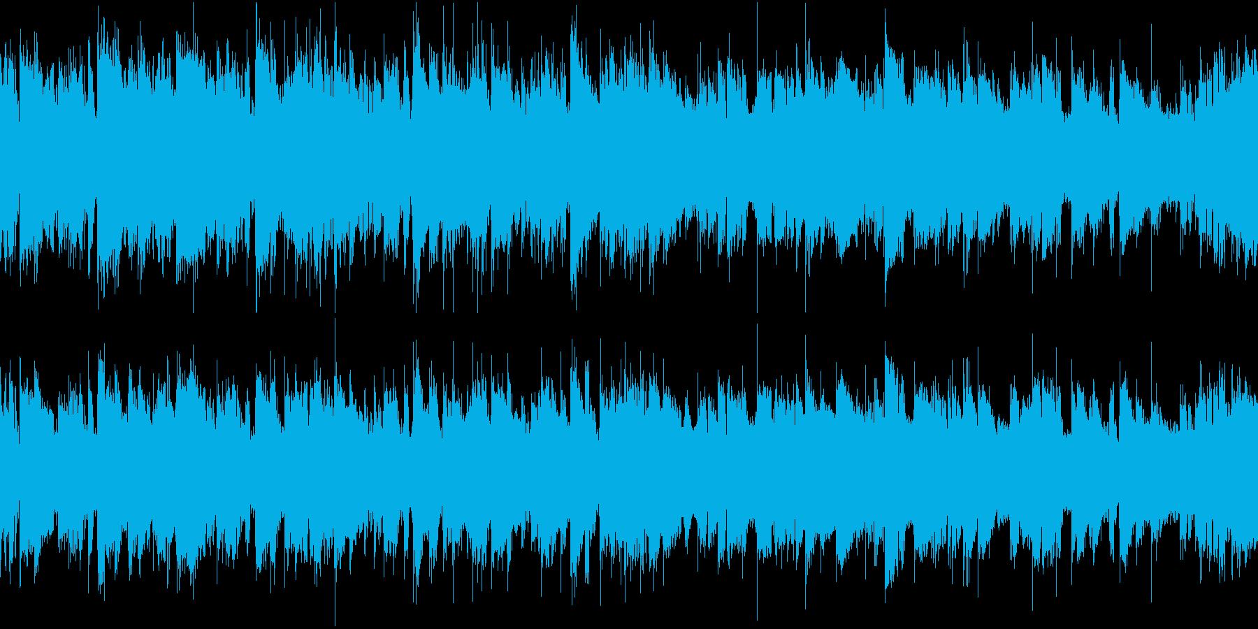 アコギが中心の穏やかな曲_ループ仕様1の再生済みの波形
