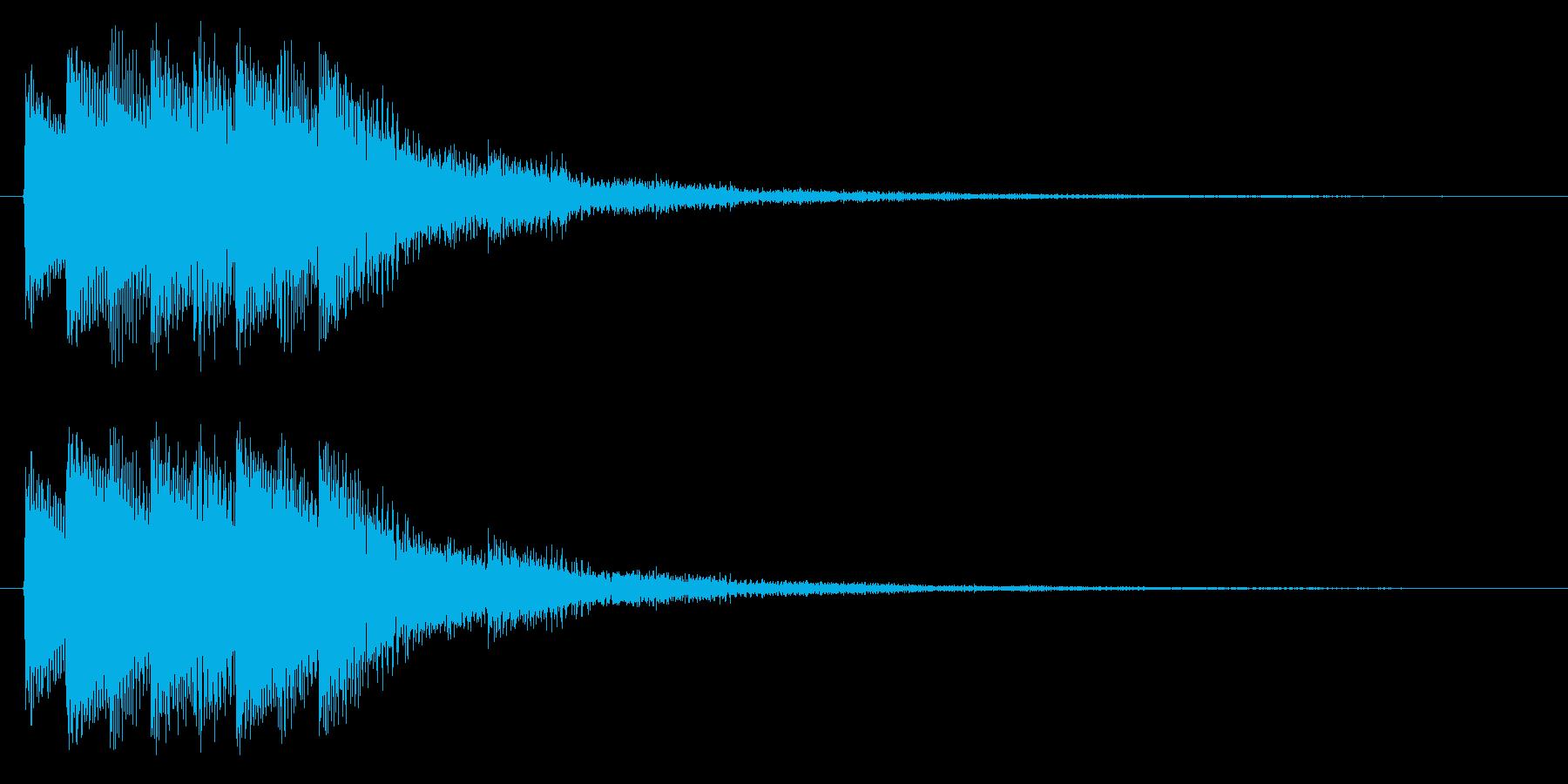 決定/SF系/レベルアップの再生済みの波形