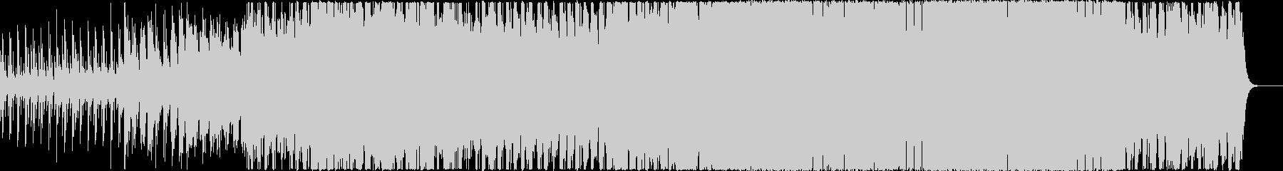 キラキラした開放感のあるコモレビの未再生の波形