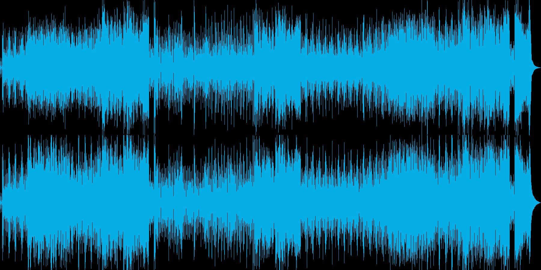 ビッグバンド/ジャズ/ラジオ/都会/夜の再生済みの波形