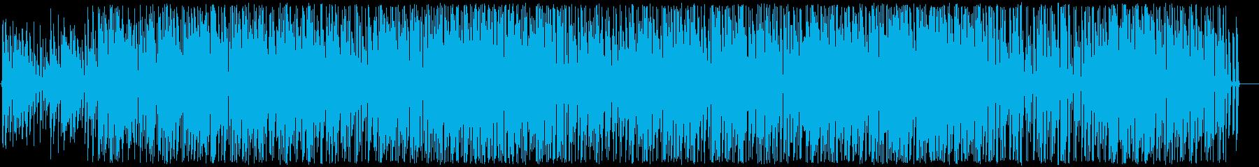 さわやかボッサの再生済みの波形