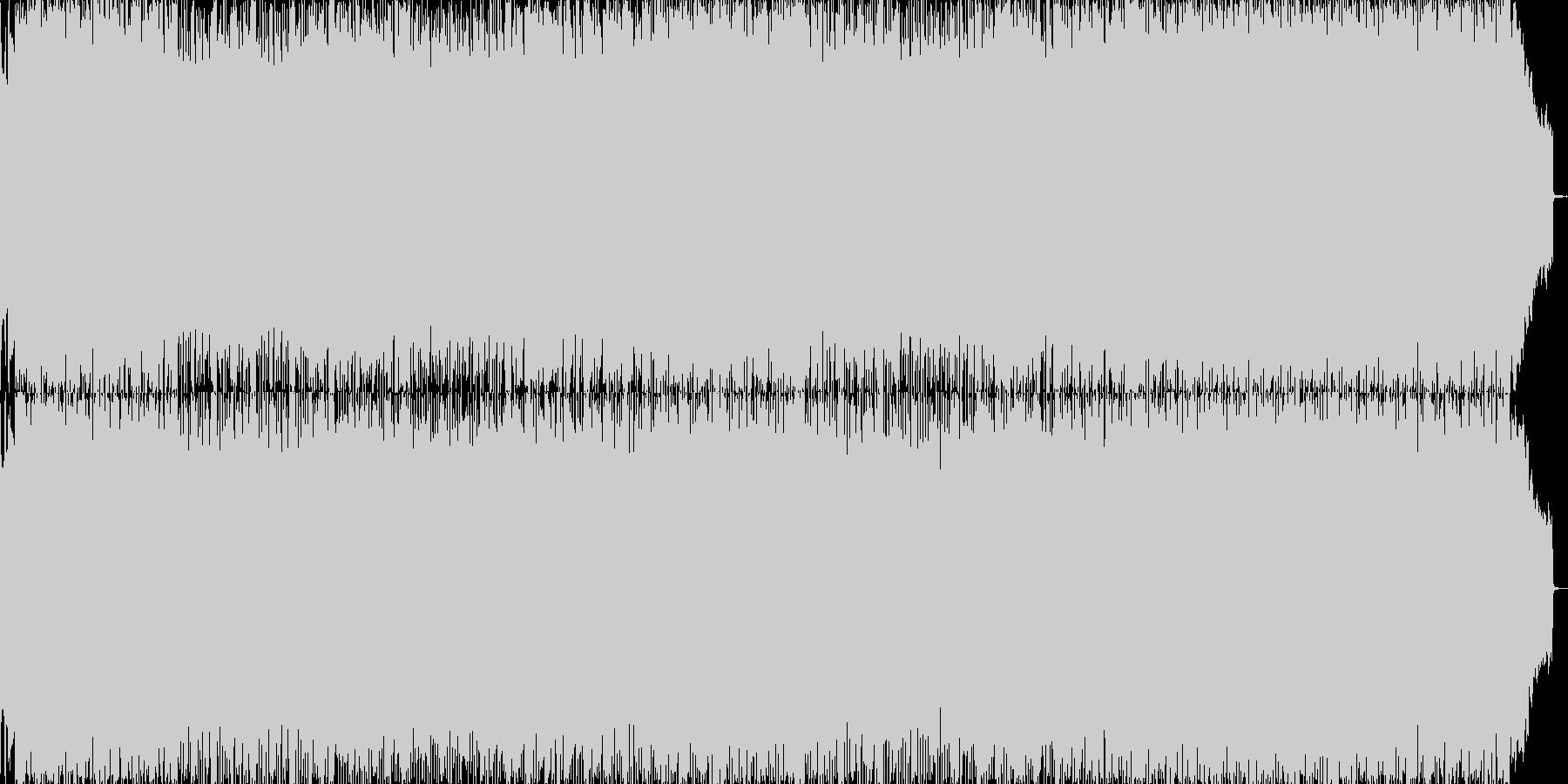 和風ゲームの戦闘BGMに適したロック曲…の未再生の波形