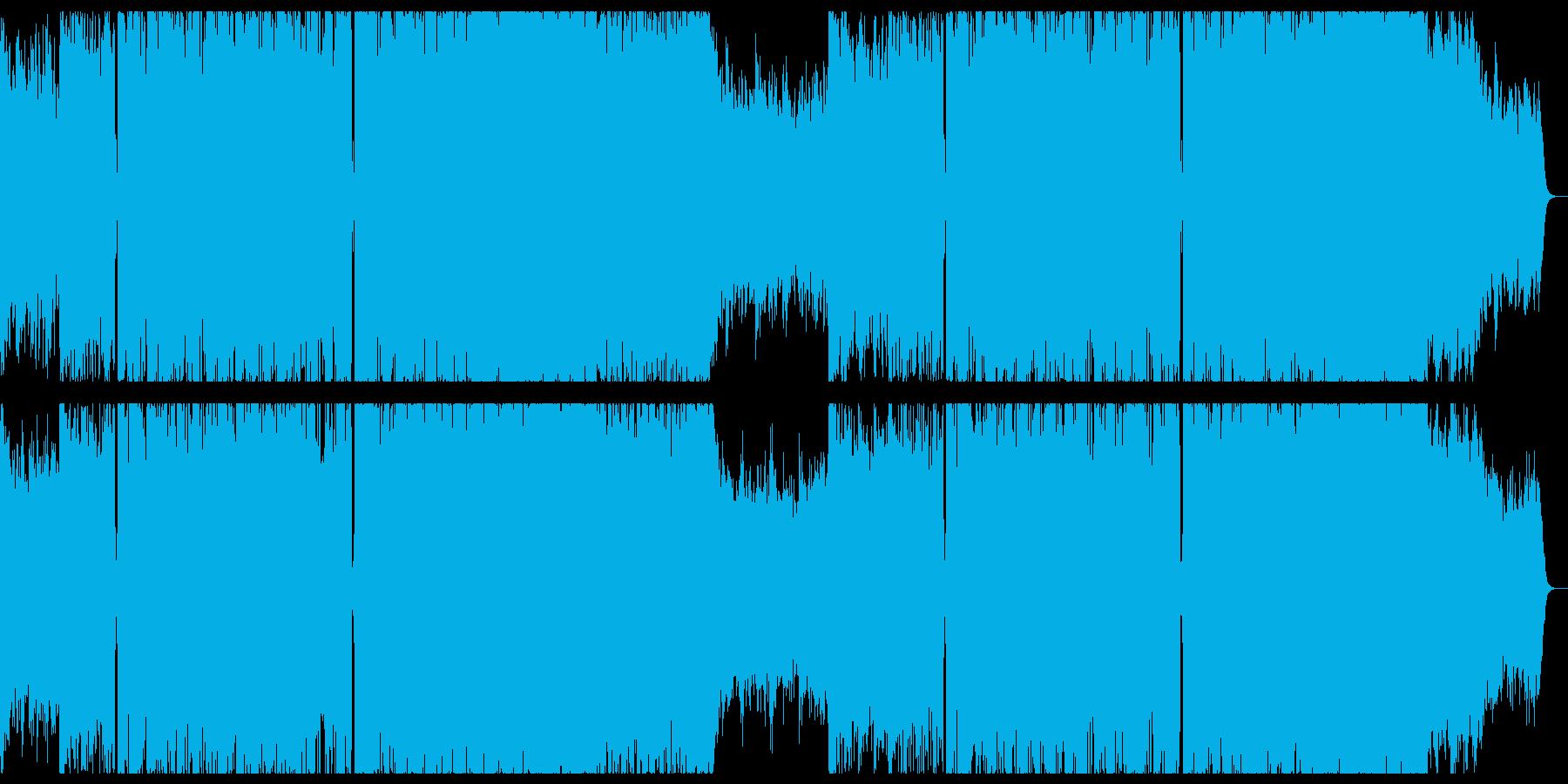 爽やかなで切ない感動的なエレクトロニカ。の再生済みの波形
