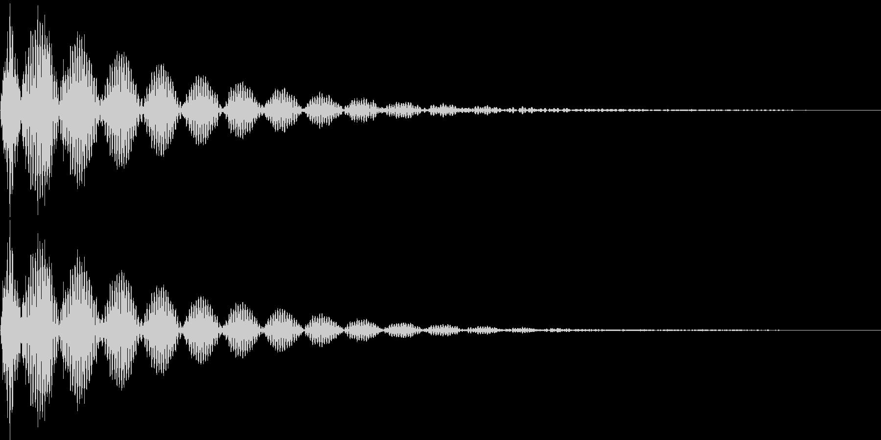 デン(キャンセル、失敗、行き止まり)の未再生の波形