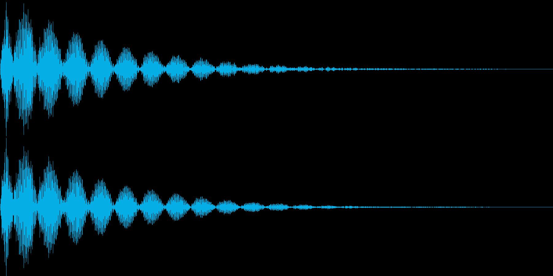 デン(キャンセル、失敗、行き止まり)の再生済みの波形