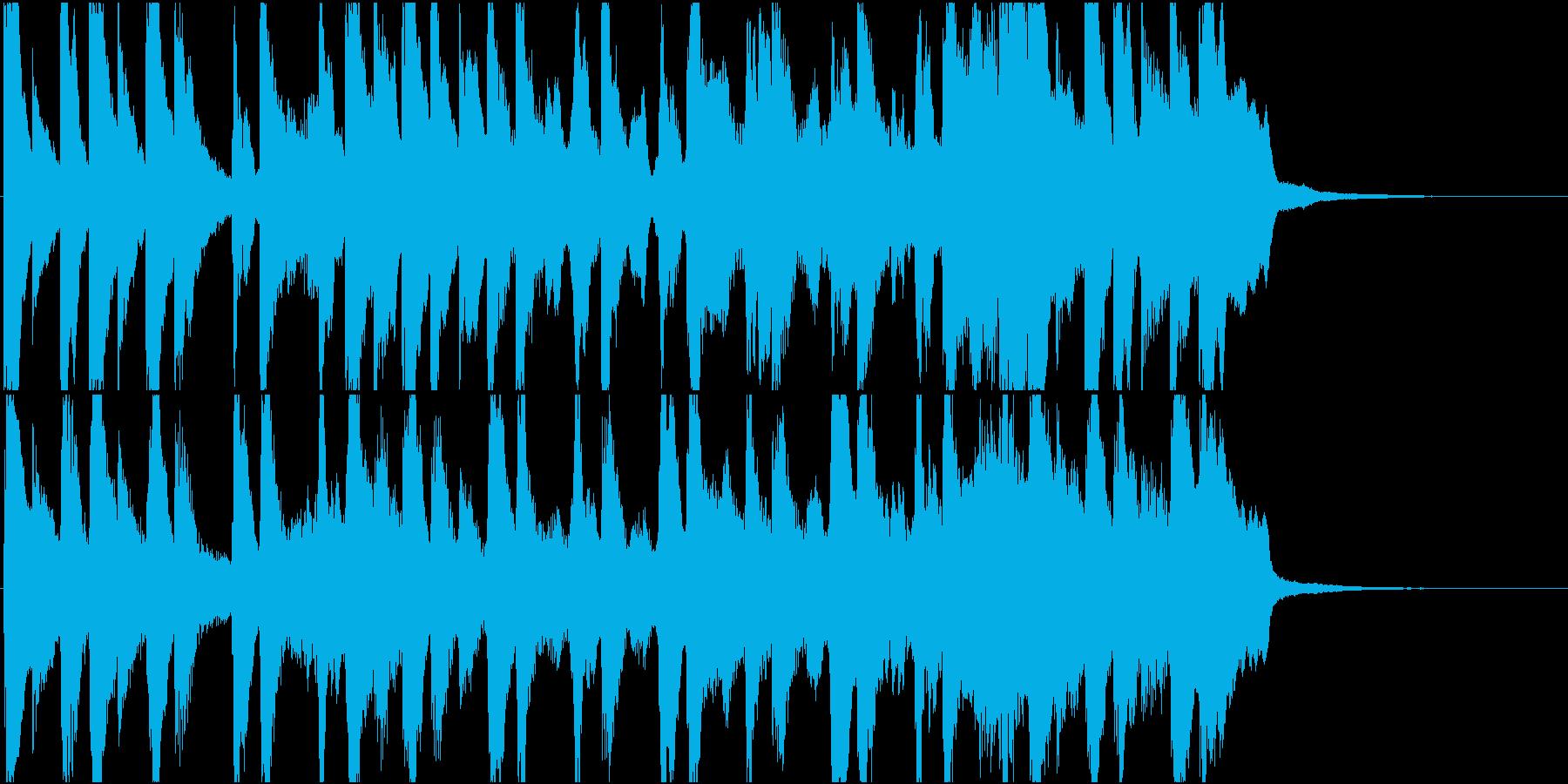 女の子向けおもちゃCM15秒用の再生済みの波形