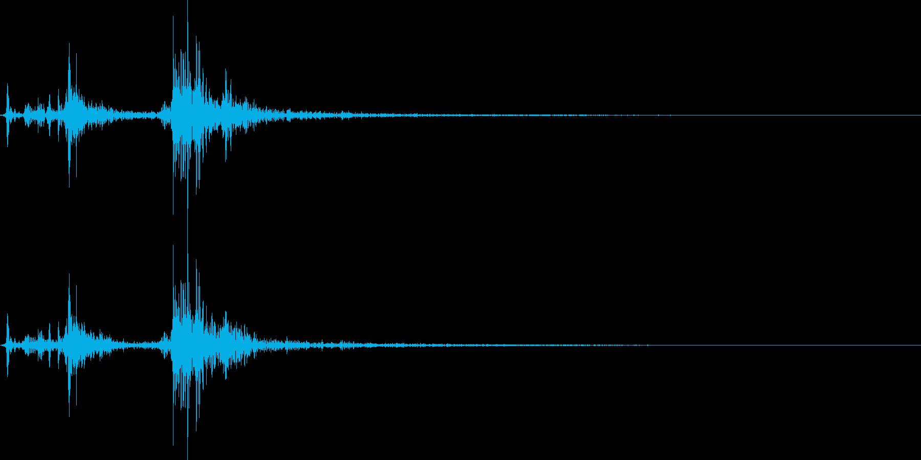 環境設定SE_07_環境設定の項目01の再生済みの波形