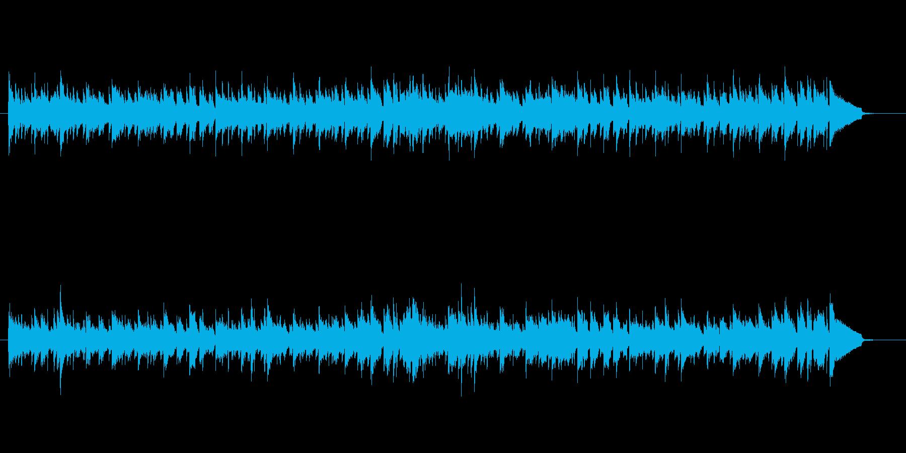 クラシック曲シチリアーノをボサノバでア…の再生済みの波形