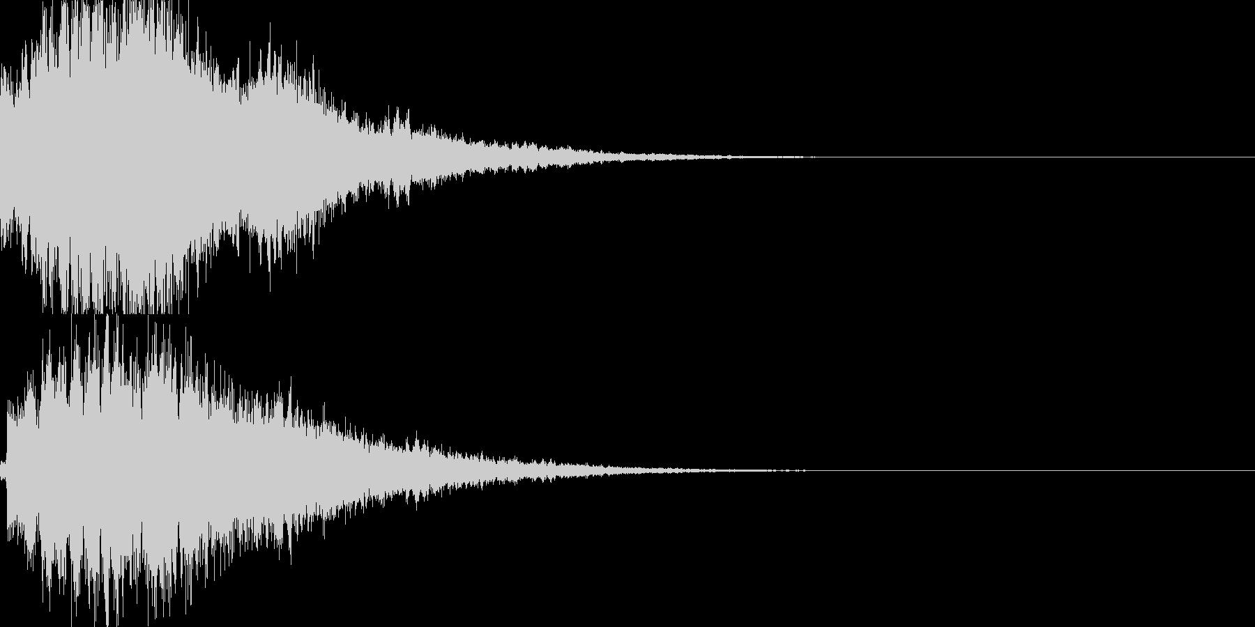 システム音26_シンセDXの未再生の波形