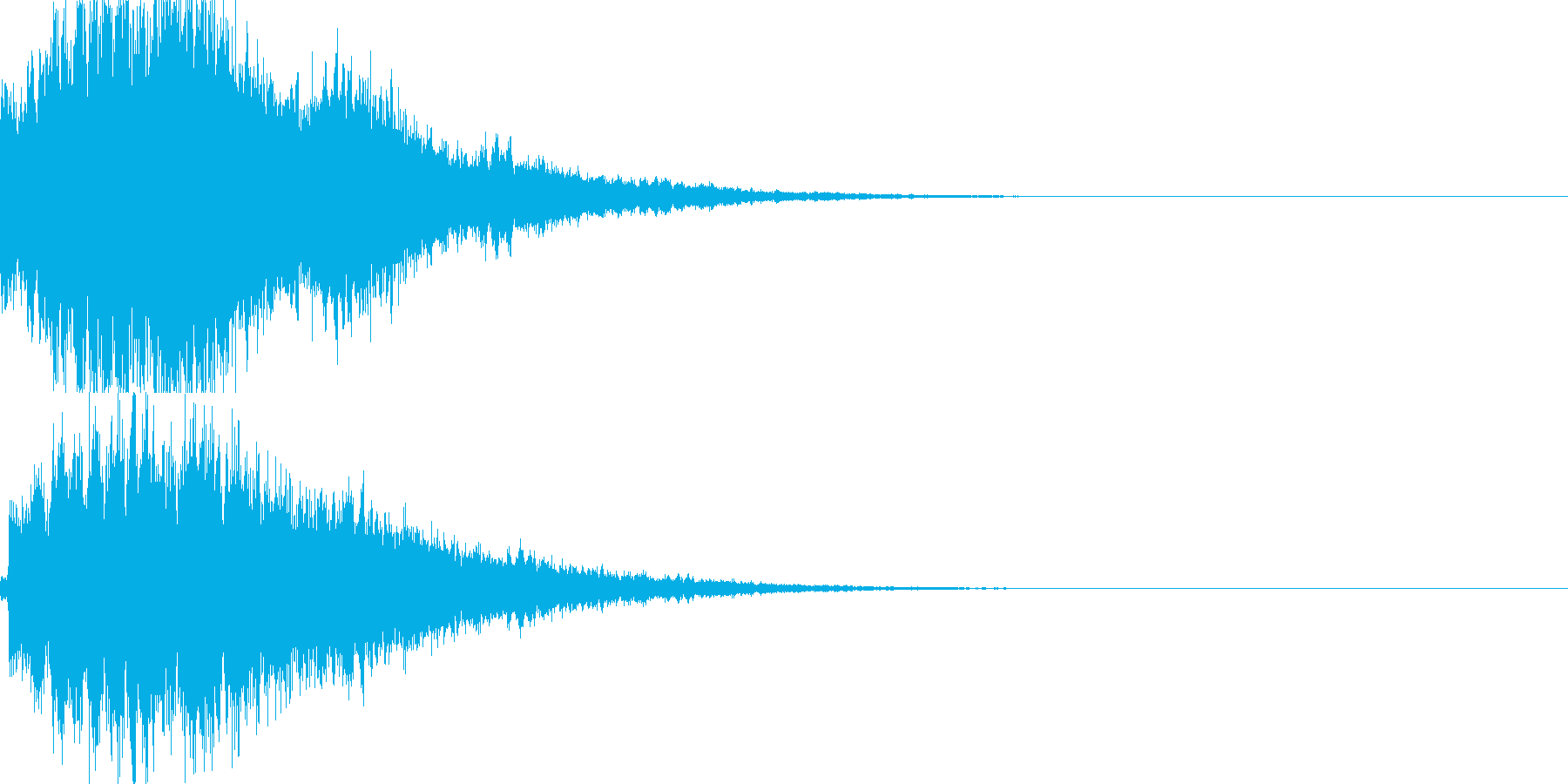 システム音26_シンセDXの再生済みの波形