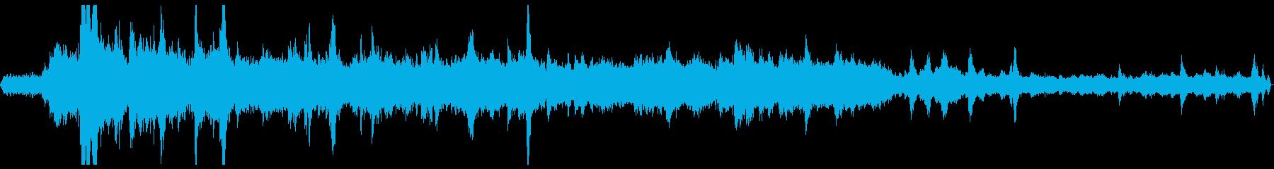 草刈機の再生済みの波形