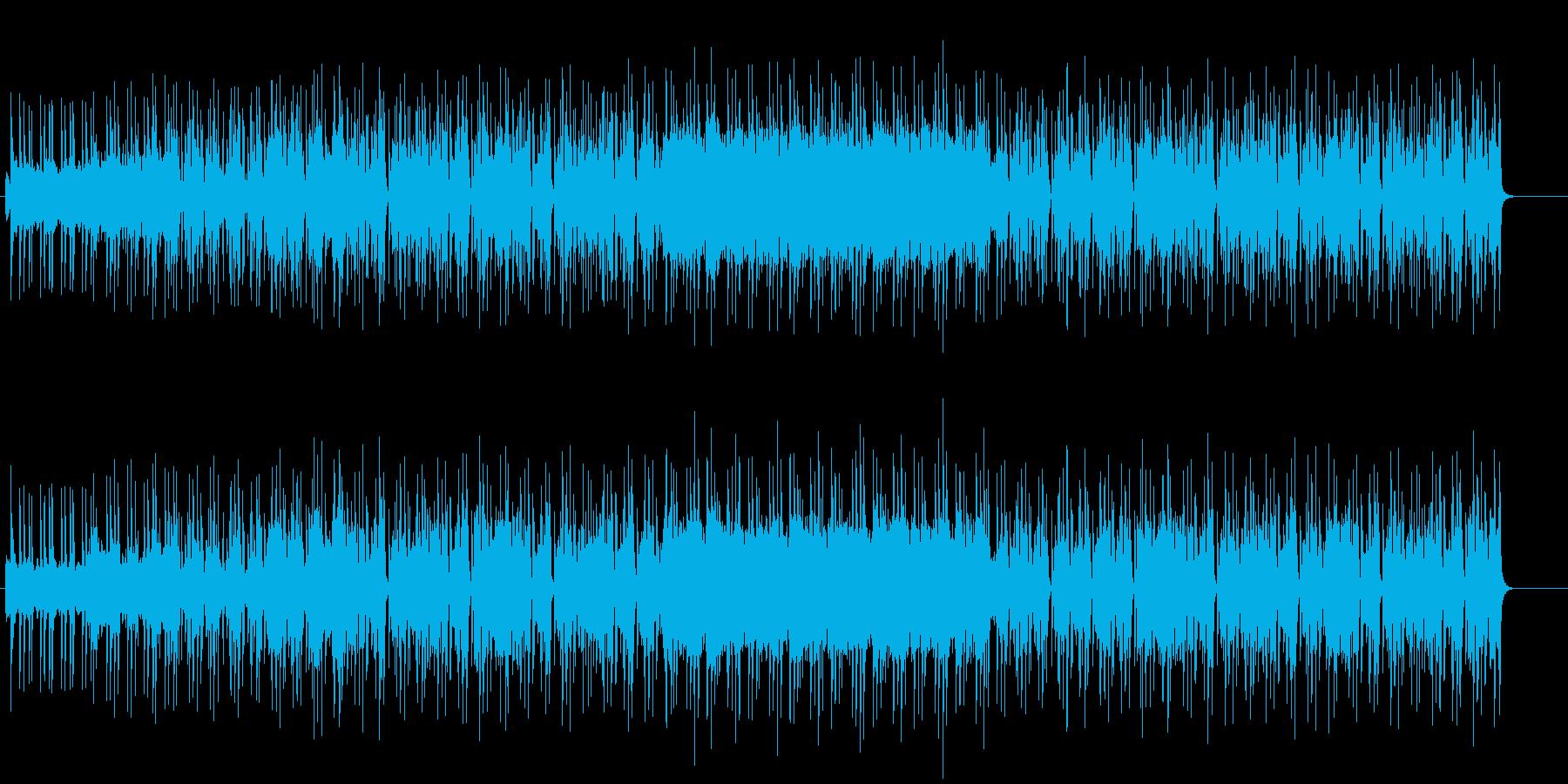 シャープなグルーヴ感に溢れたジャズの再生済みの波形