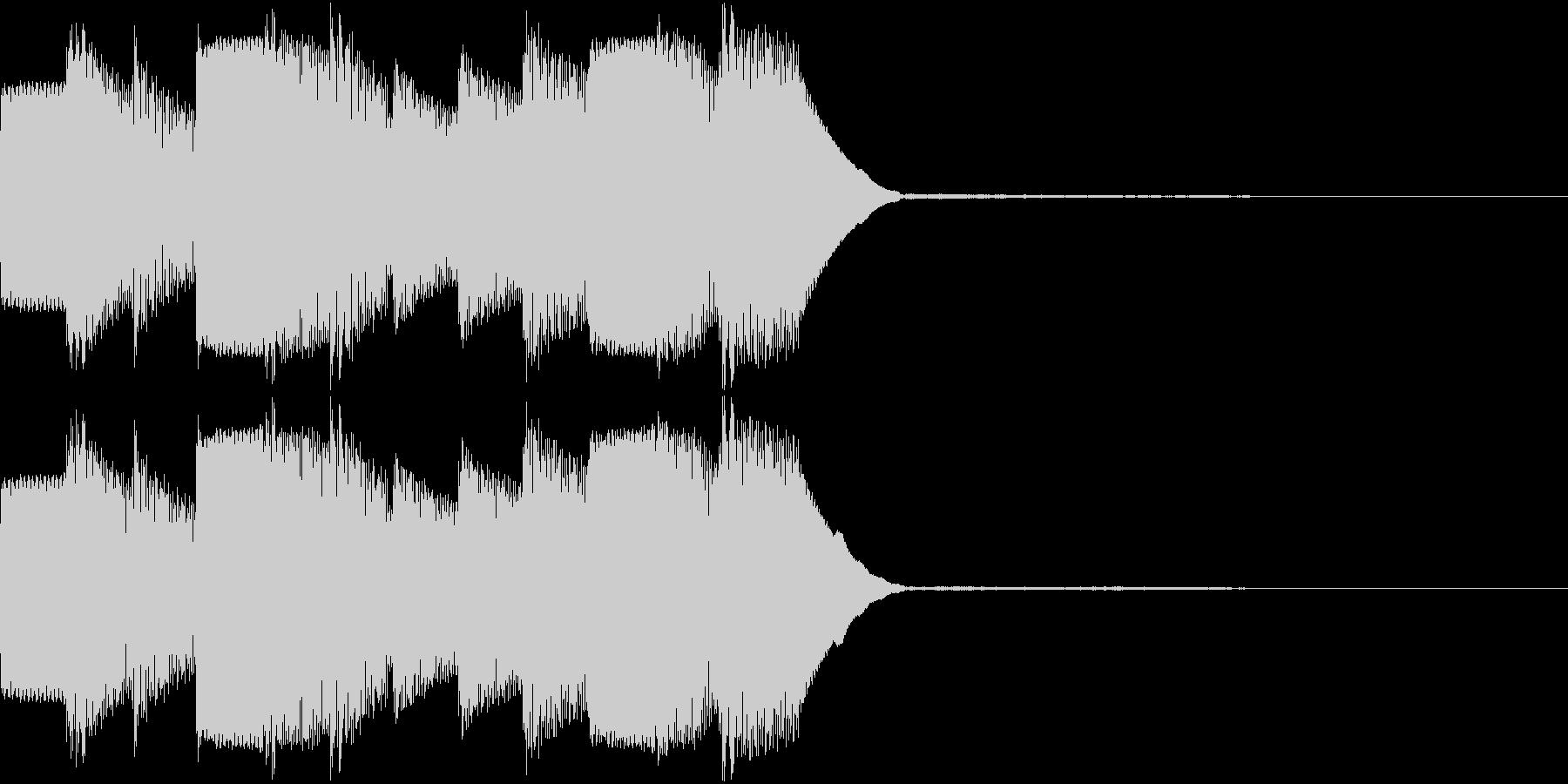 アラーム 時報 ぴよぴよ 着信 ループ2の未再生の波形