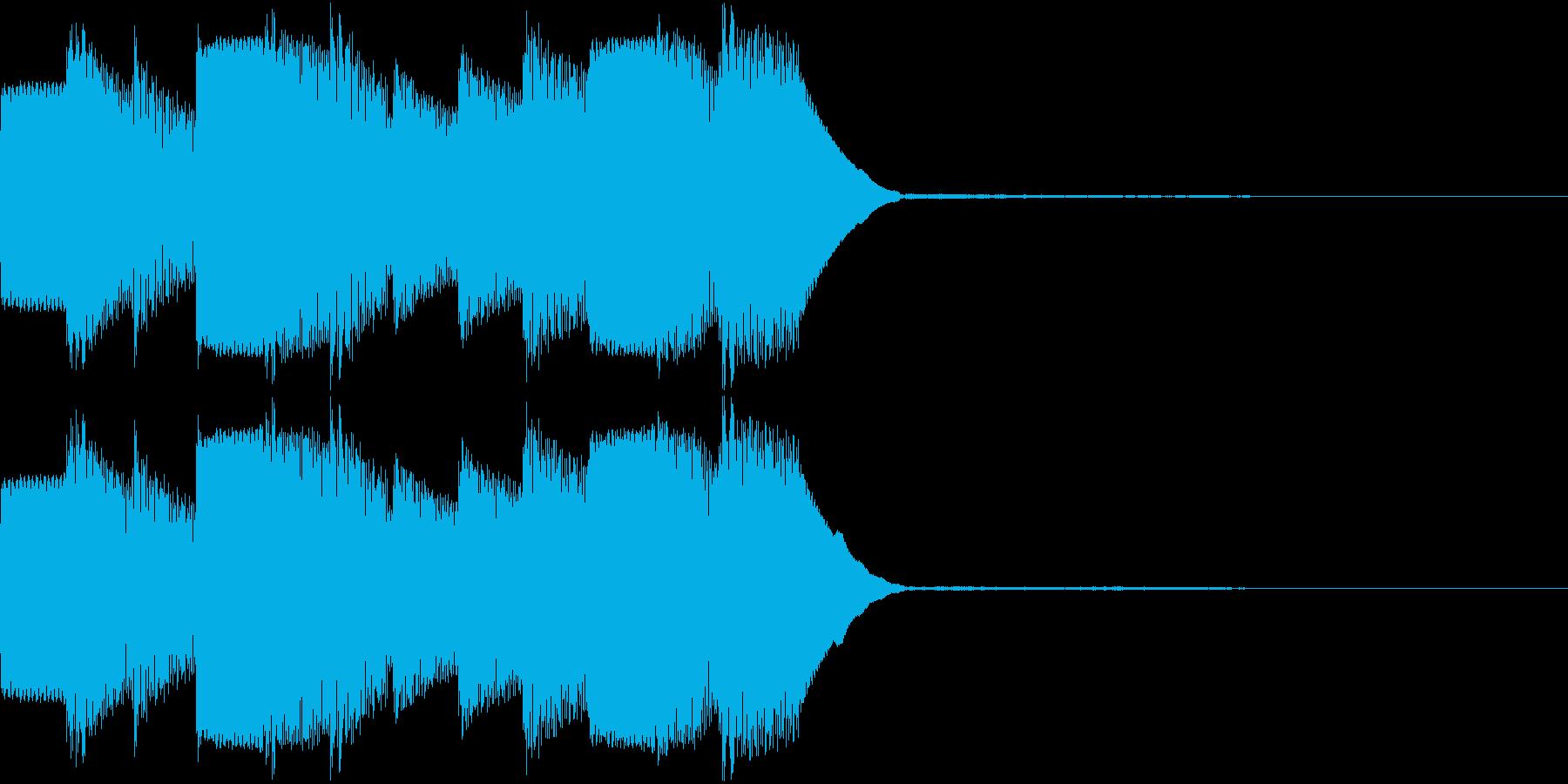 アラーム 時報 ぴよぴよ 着信 ループ2の再生済みの波形