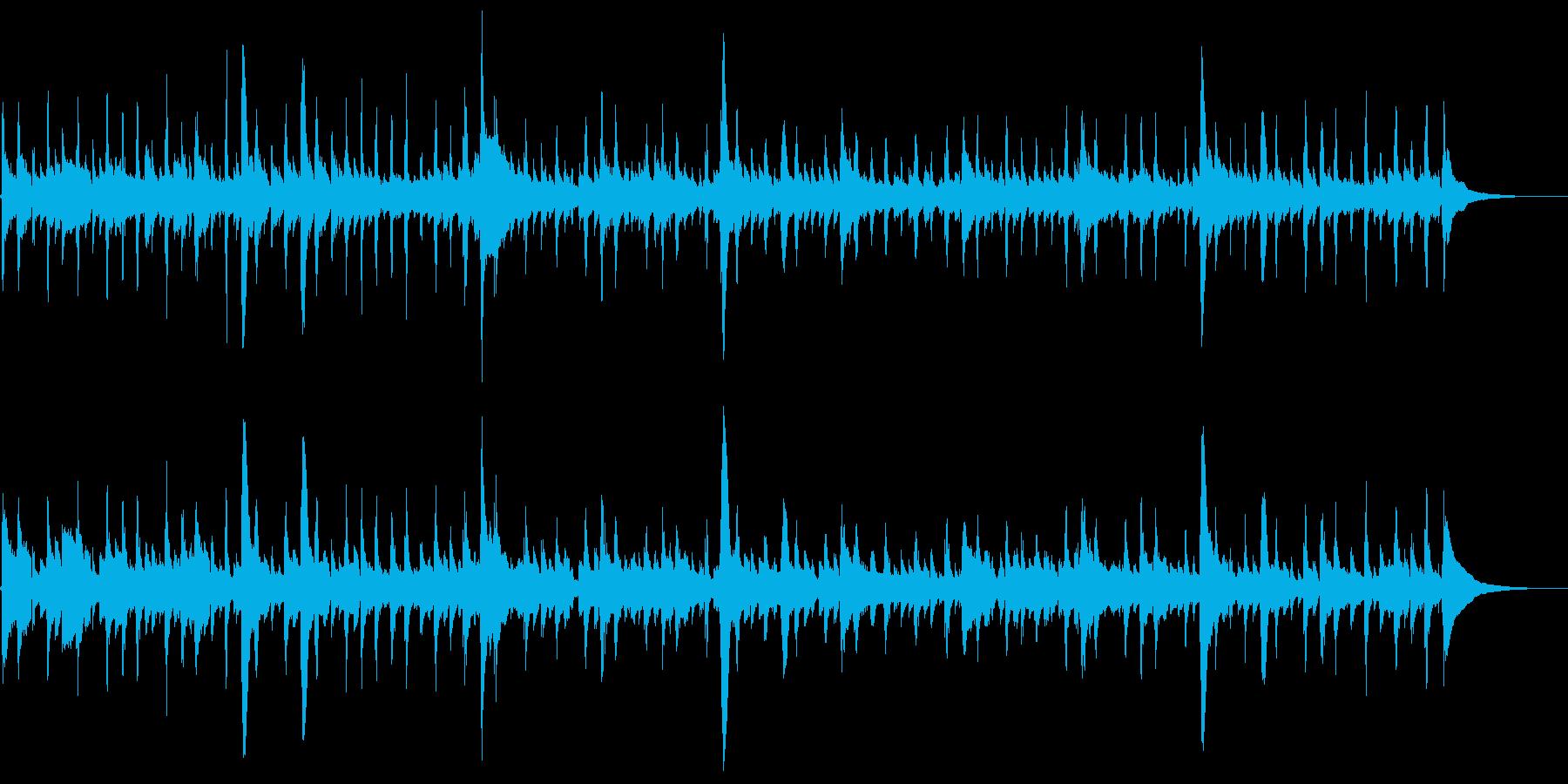 アコギのアンビエント【生演奏】の再生済みの波形