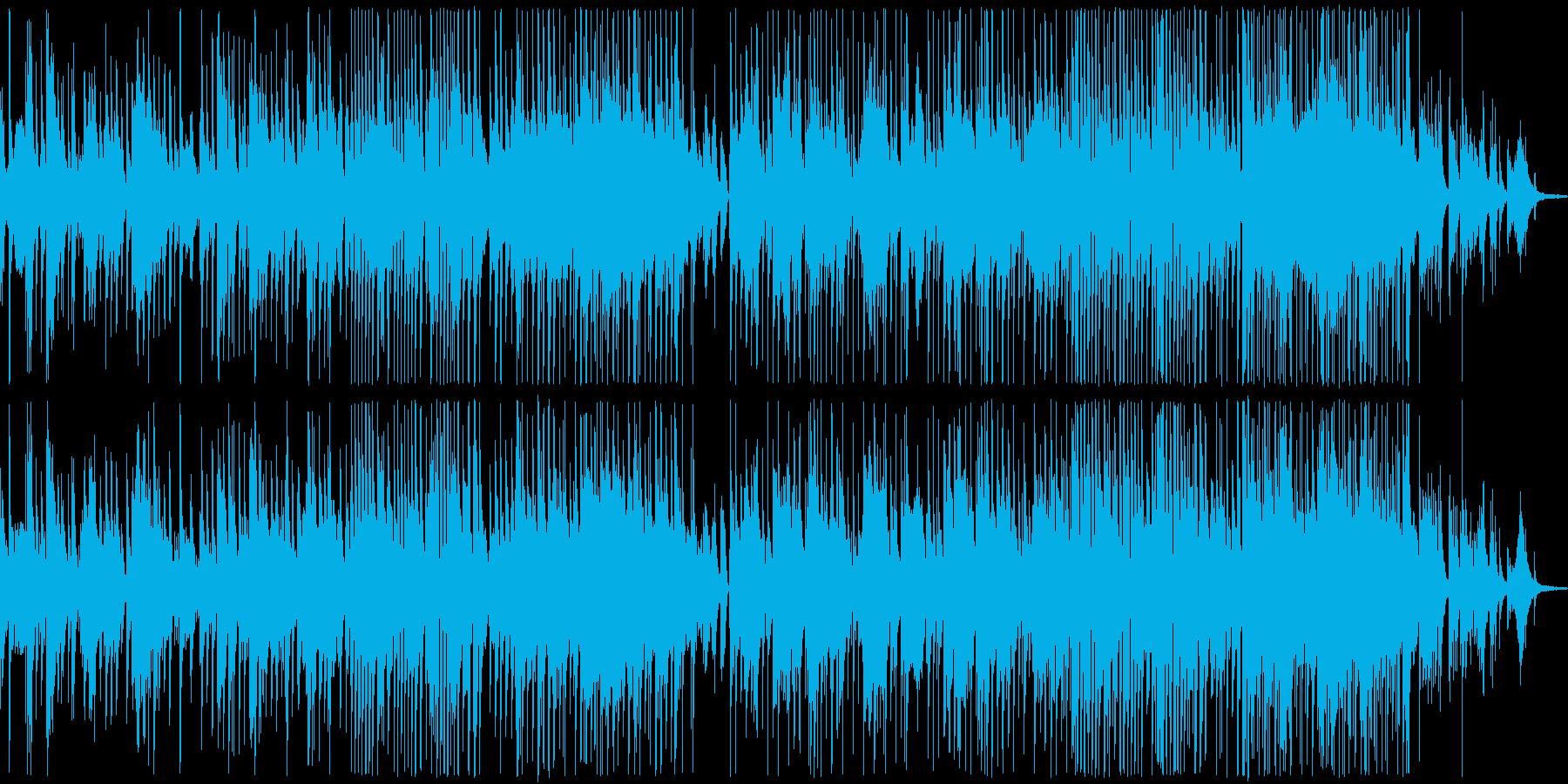 ブルージーなジャズバラードの再生済みの波形