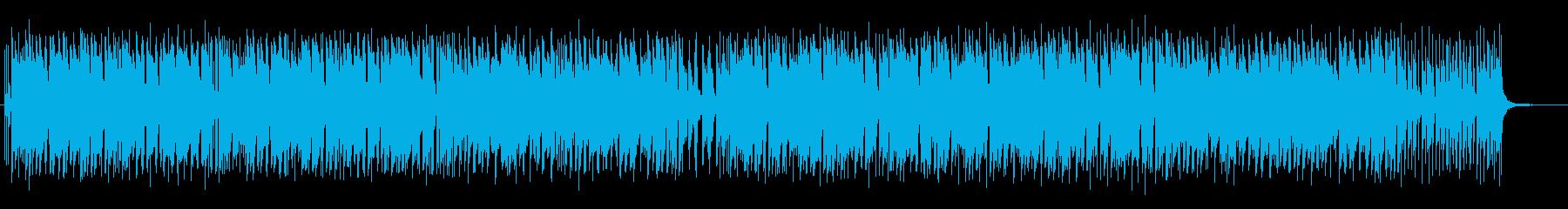 まったりした日常感のあるピアノ曲の再生済みの波形