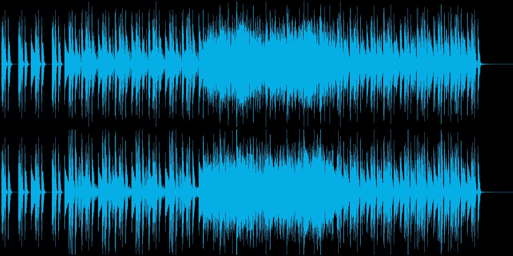 レトロBGM 洞窟 鉱山の再生済みの波形