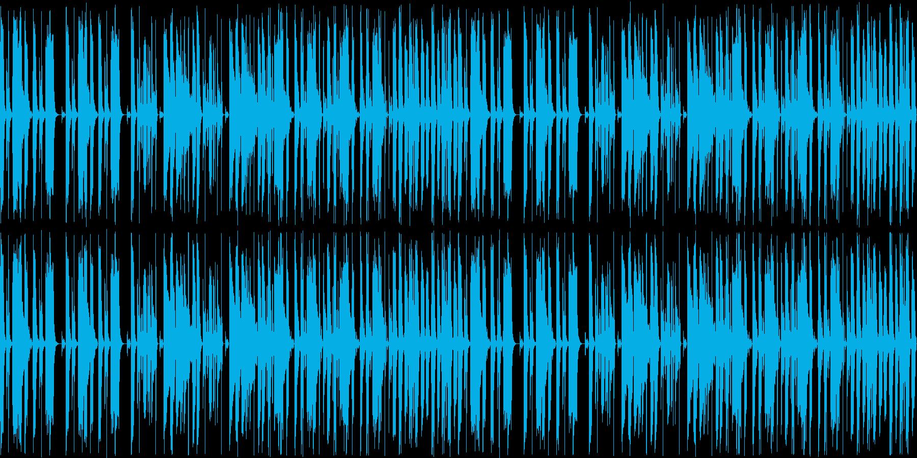 シンプルイズベスト。シュールな映像にも…の再生済みの波形