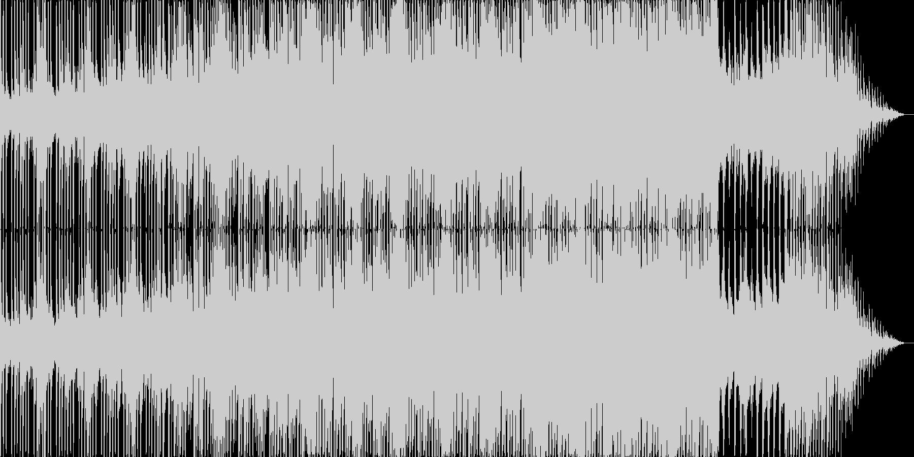 勇敢なイメージのサウンドトラックの未再生の波形