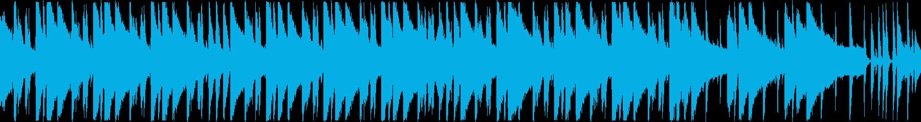 ルージーな印象のピアノポップBGMの再生済みの波形