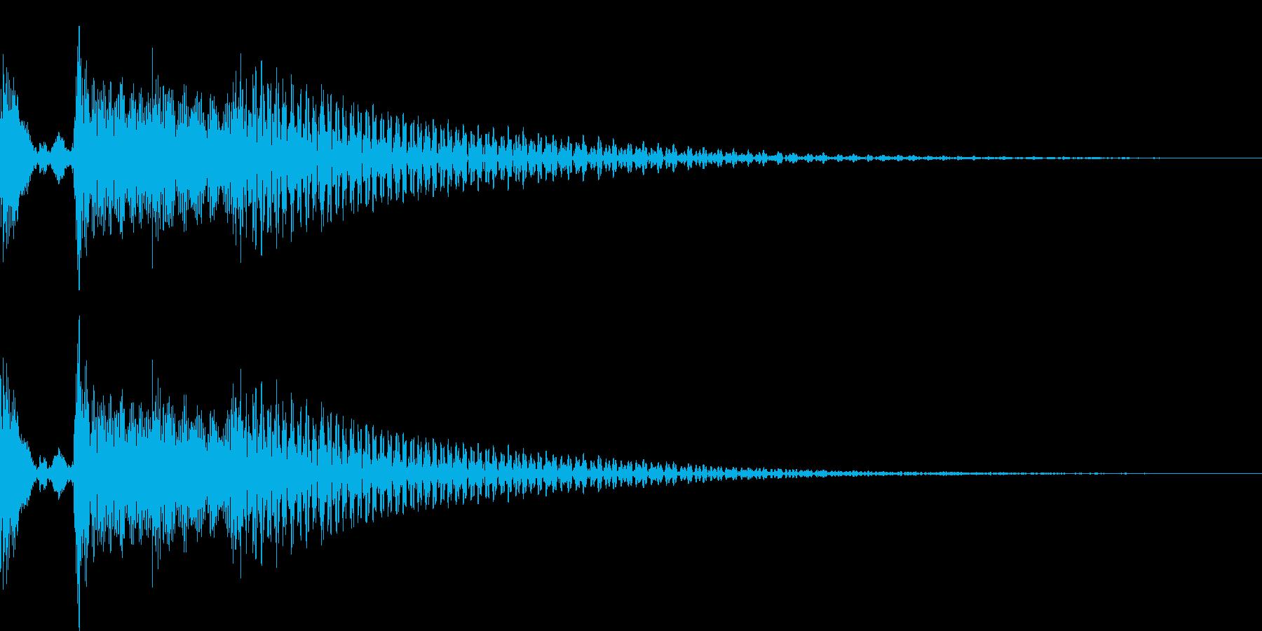 ポロロロン(スワイプ キャンセル 移動)の再生済みの波形