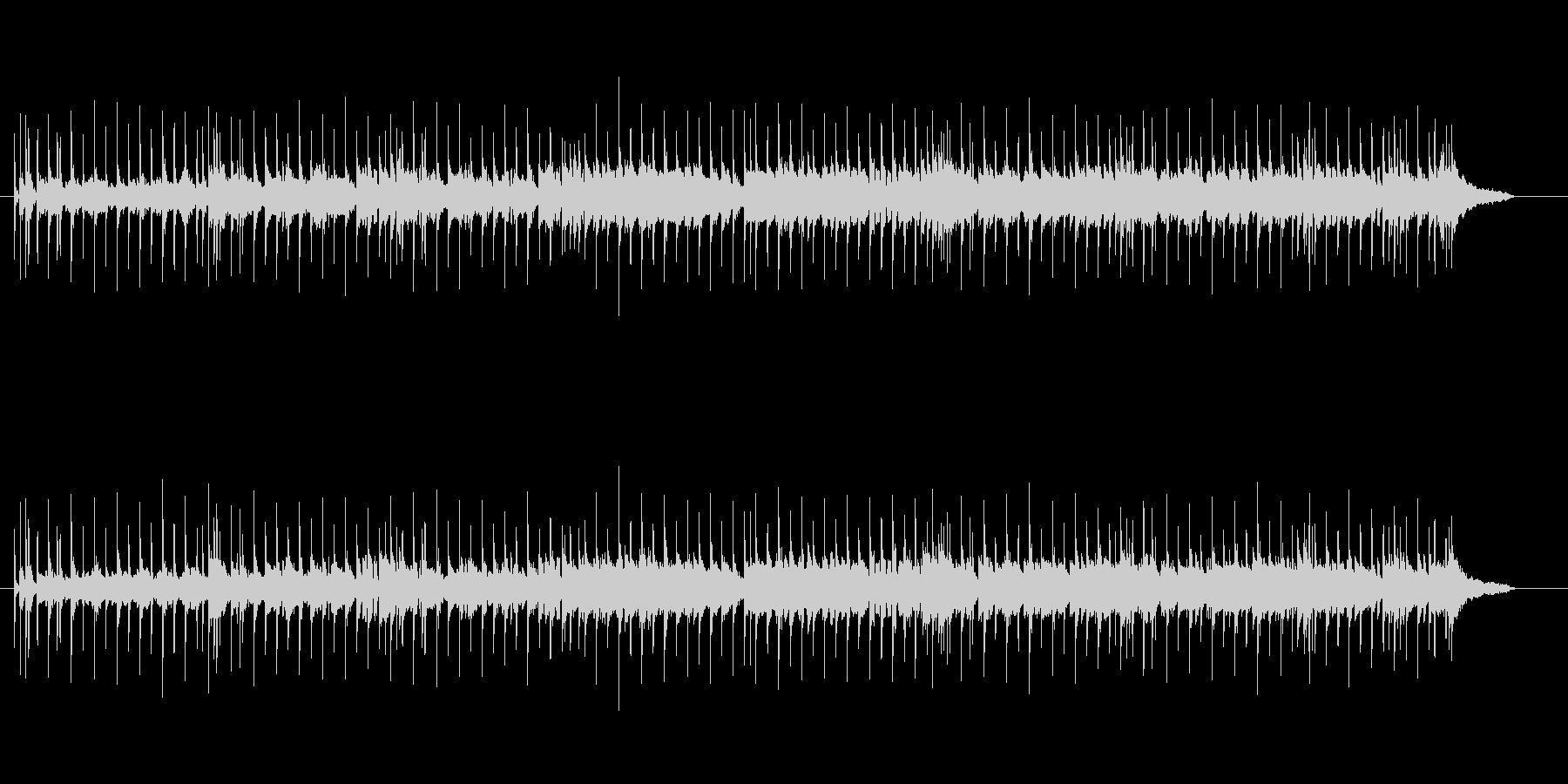 軽快なマイナー調・ニューミュージックの未再生の波形