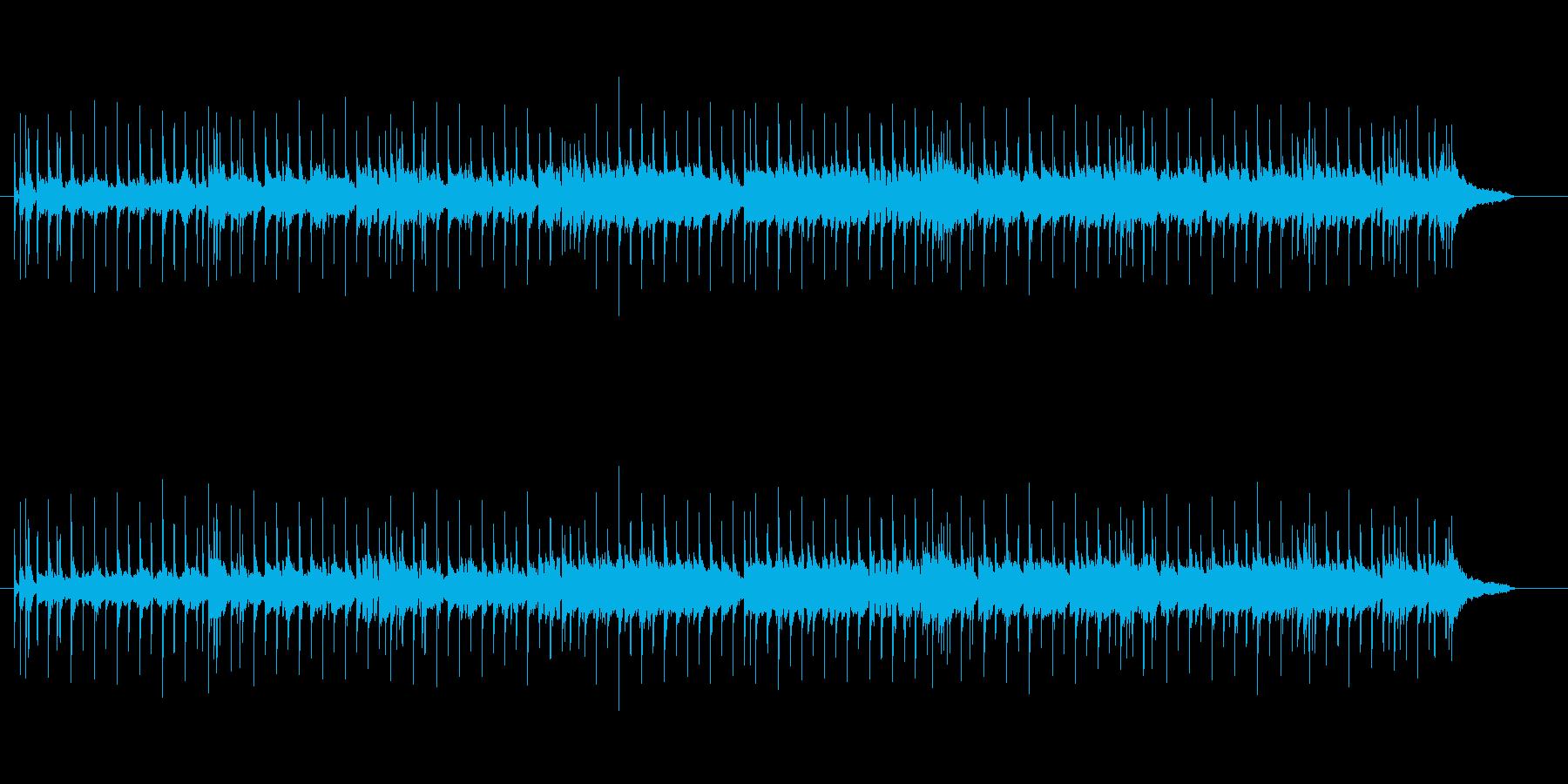 軽快なマイナー調・ニューミュージックの再生済みの波形