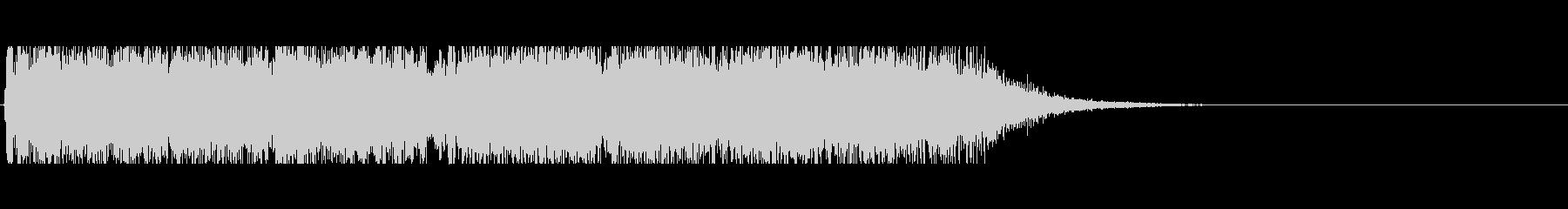 ジャズコンボによるジングル アイキャッチの未再生の波形