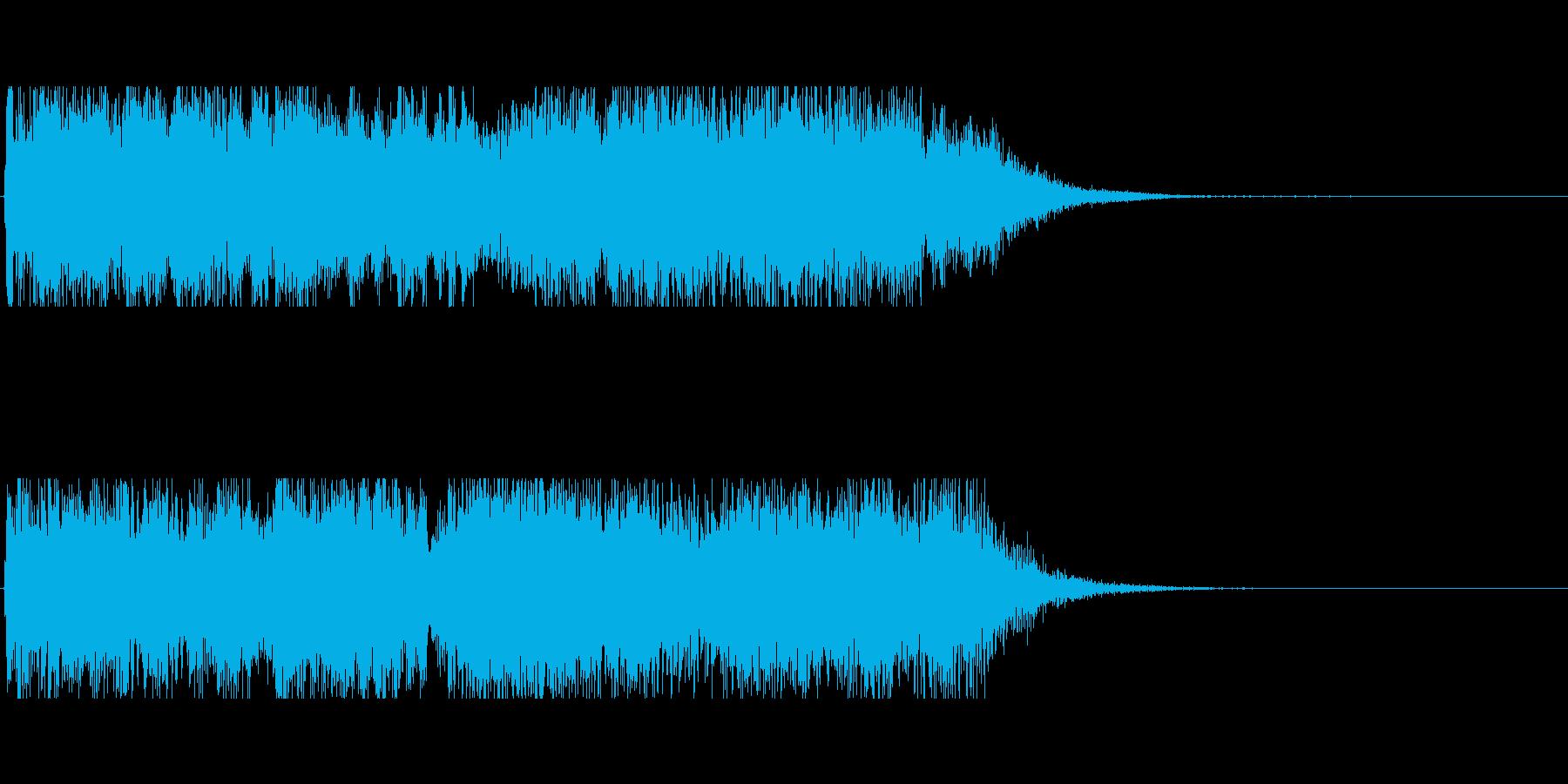 ジャズコンボによるジングル アイキャッチの再生済みの波形