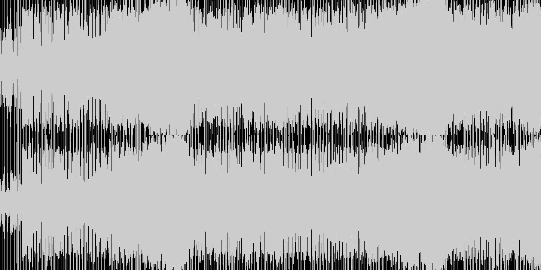 冬のフィールドイメージBGM・戦地に赴くの未再生の波形