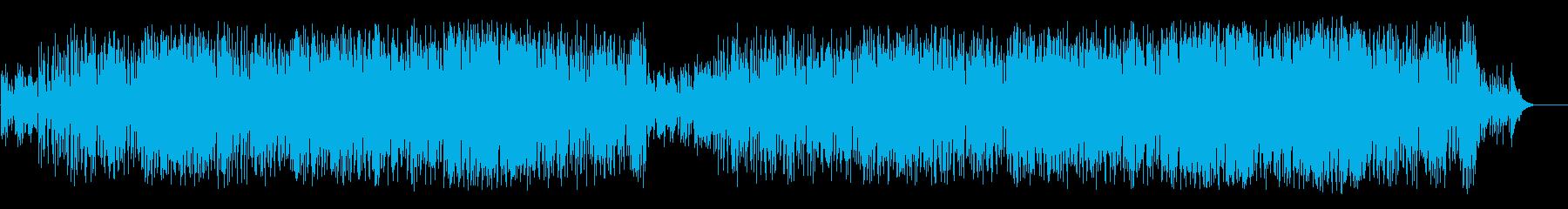 のんびりと爽やかなポップ(フルサイズ)の再生済みの波形