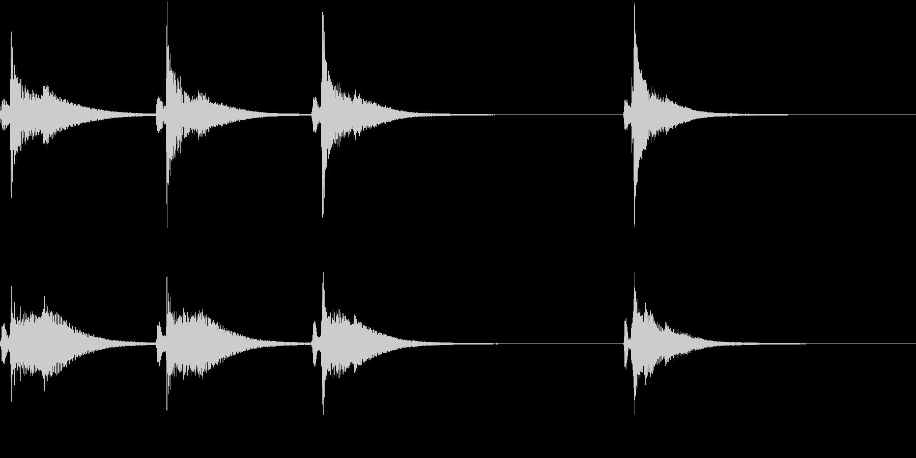 Kawaii メルヘンな受信・通知音 3の未再生の波形