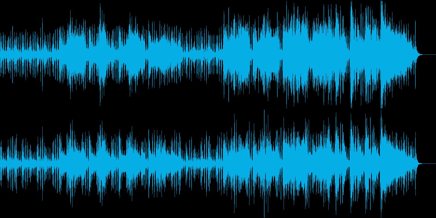 ストリングス/穏やか/シンプル/の再生済みの波形