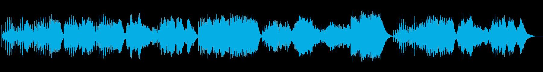 シンセのオーケストラが奏でる組曲の再生済みの波形