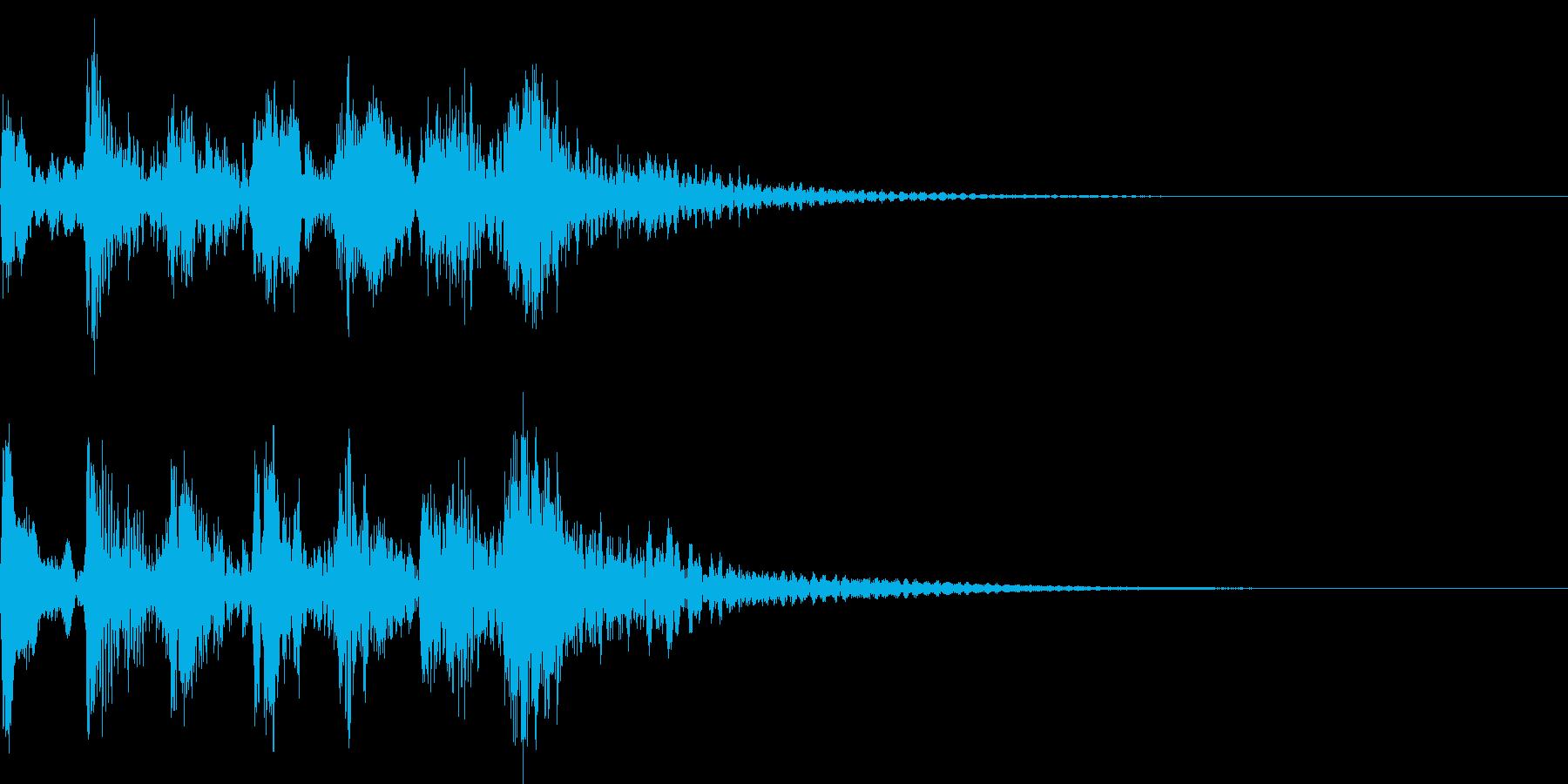 ピチカートに寄る短いジングル2の再生済みの波形