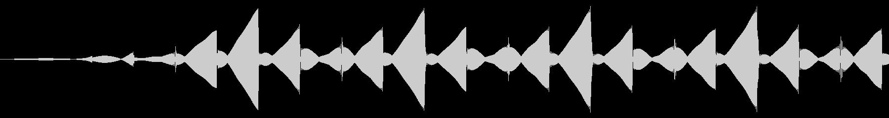 パソコン/キャンセル/ブッの未再生の波形