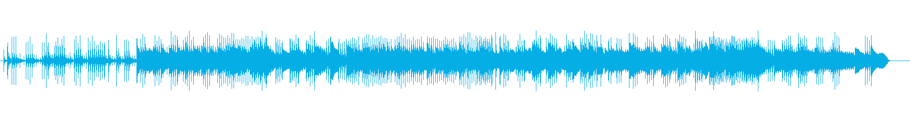 別れの曲-ショパン-のオルゴールの再生済みの波形