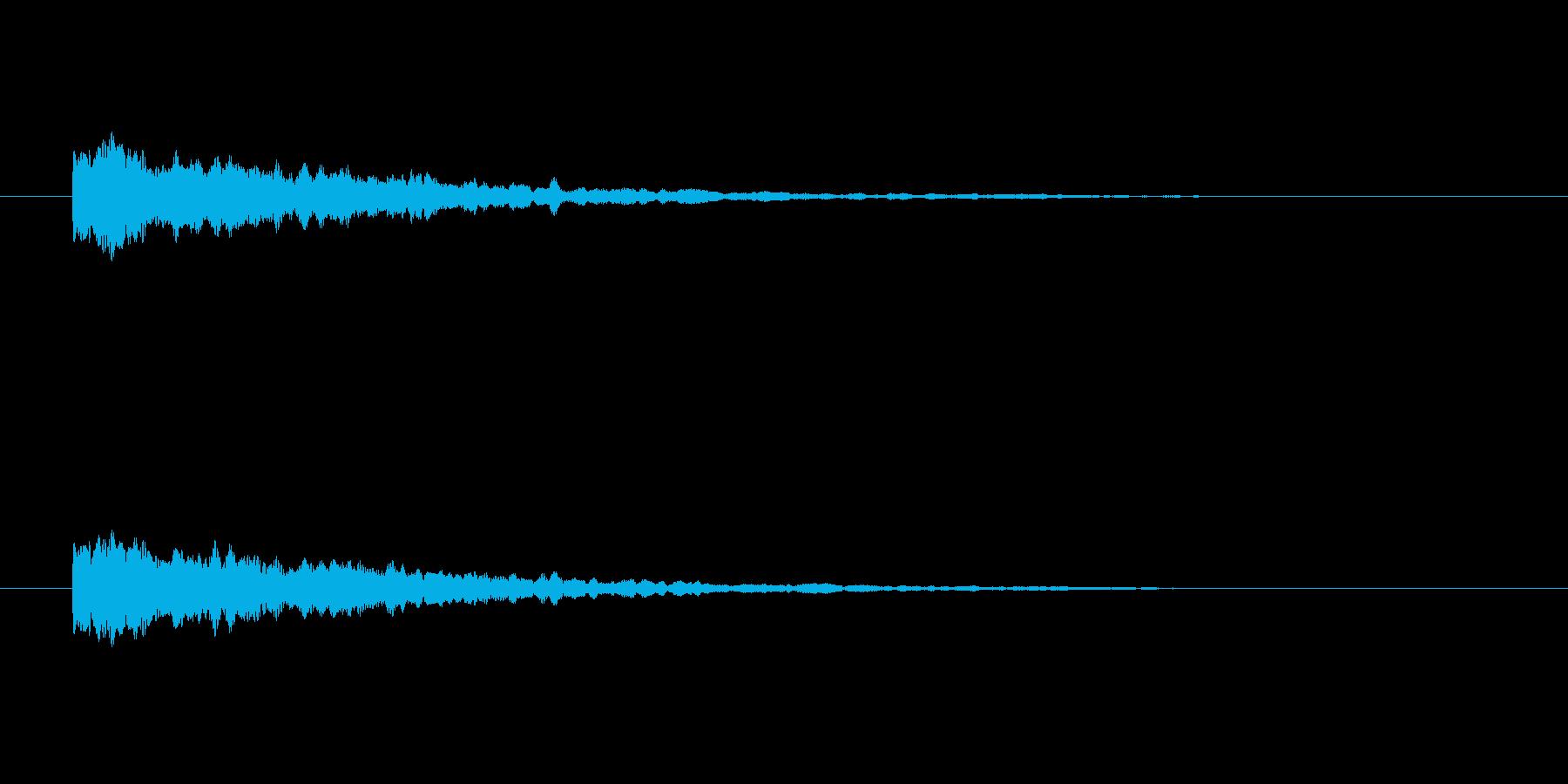 【ひらめき09-4】の再生済みの波形