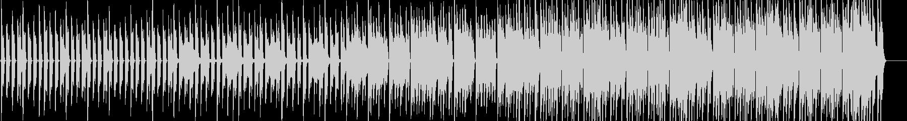 クイズ用タイムカウントダウン音源の未再生の波形