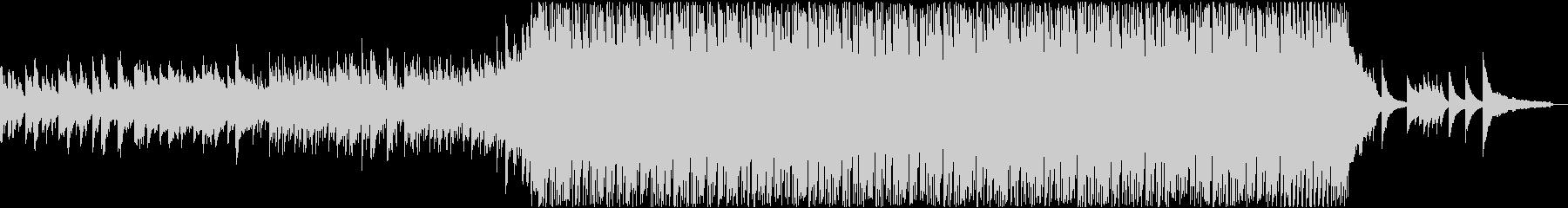 ピアノとストリングスの熱いドラムンベースの未再生の波形